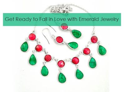 Get Ready to Fall in Love with Emerald Jewelry