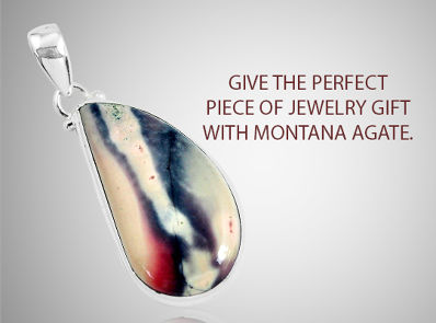 Give The Perfect Piece Of Jewelry Gift With Montana Agate