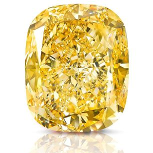 "Graff Reveals 132 Carat Statement Yellow Diamond, Calls It ""Golden Empress"""