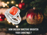 How Oregon Sunstone Brighten Your Christmas?