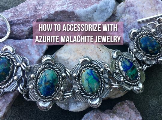 How To Accessorize With Azurite Malachite Jewelry