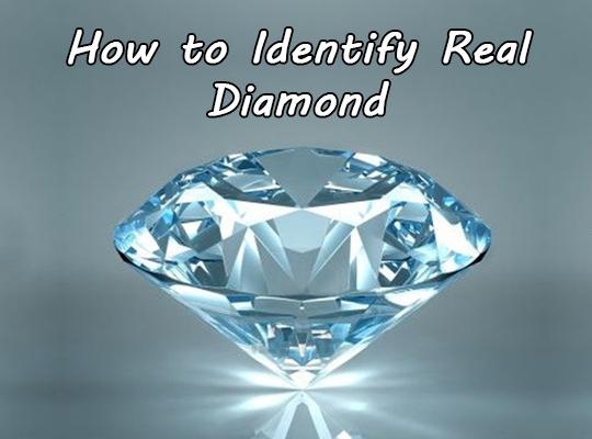How to Identify Real Diamond