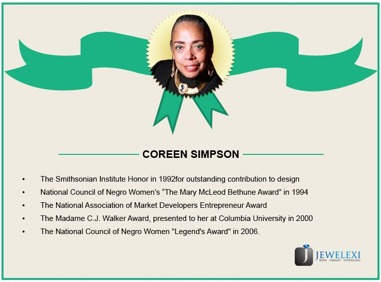 Coreen Simpson awards