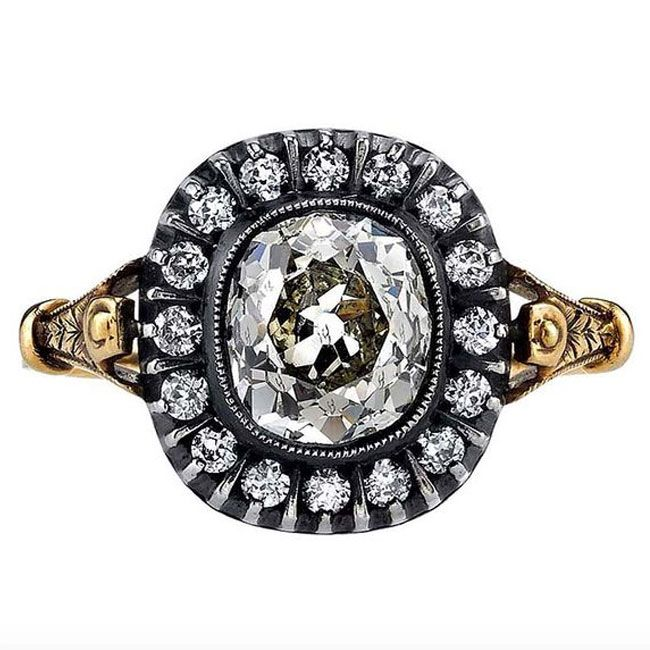 classic victorian design this antique engagement ring