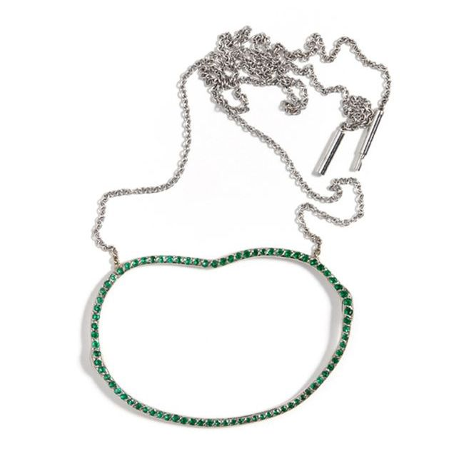Alexandra Jeffords Emerald Necklace