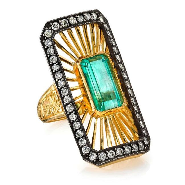 arman sarkisyan emerald ring