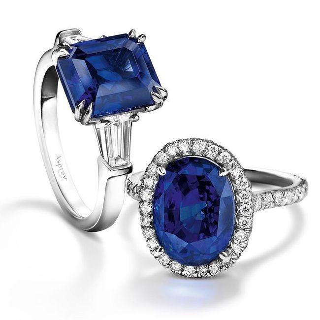 asprey sapphire rings