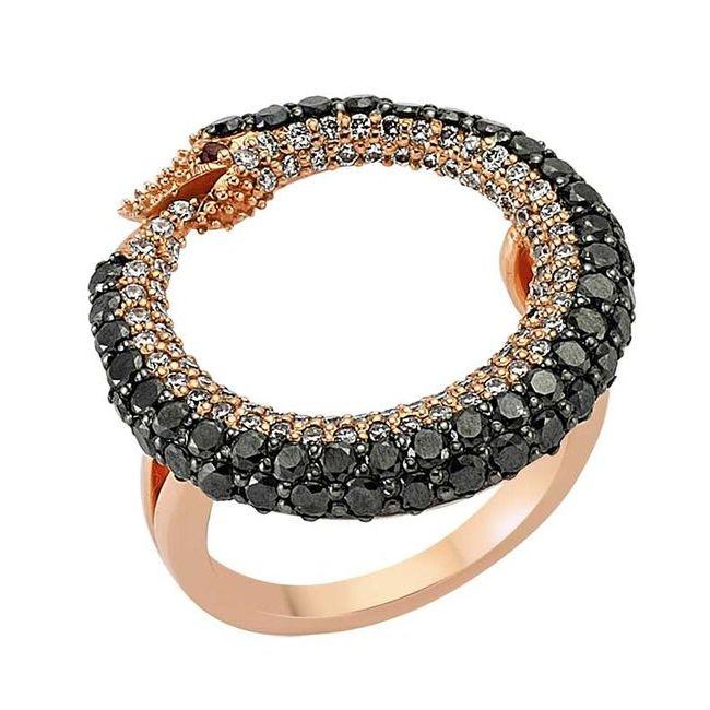Bee Goddess Ouroboros Ring