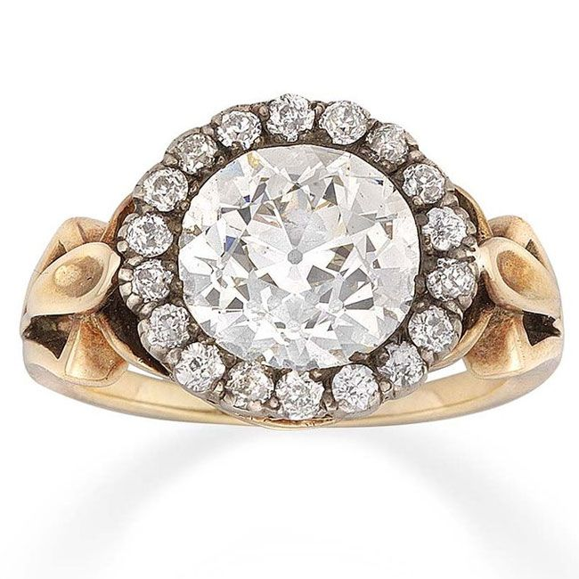 bentley skinner victorian engagement ring