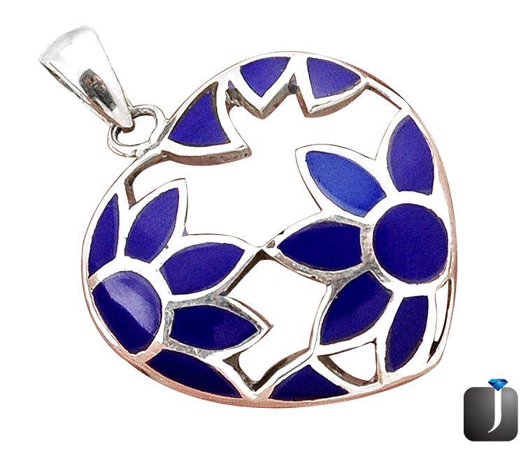 blue lapis pendant