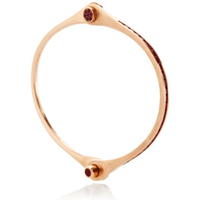 Borgioni Lov Lock Bracelet in Rose Gold