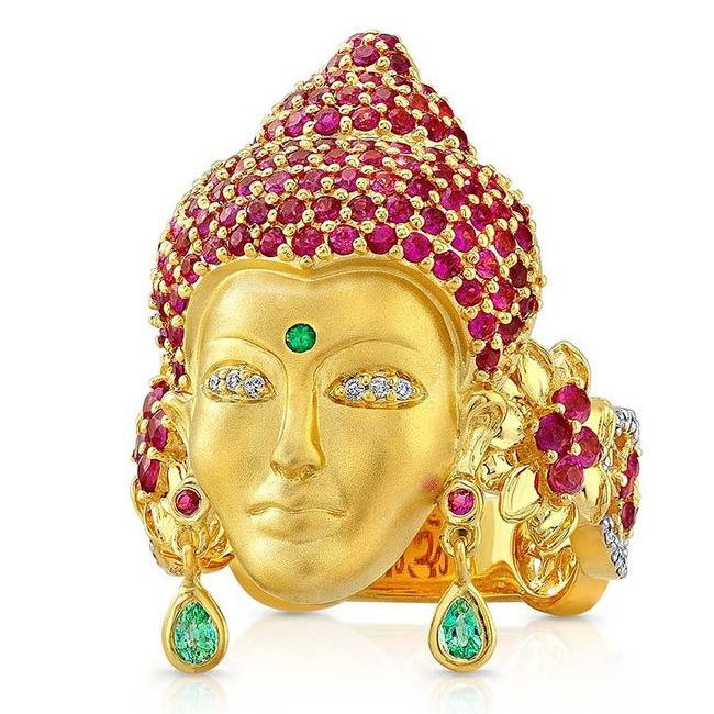 buddha mama ring