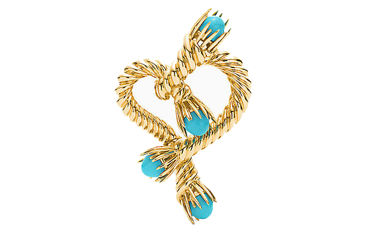 charles lewis tiffany heart clip
