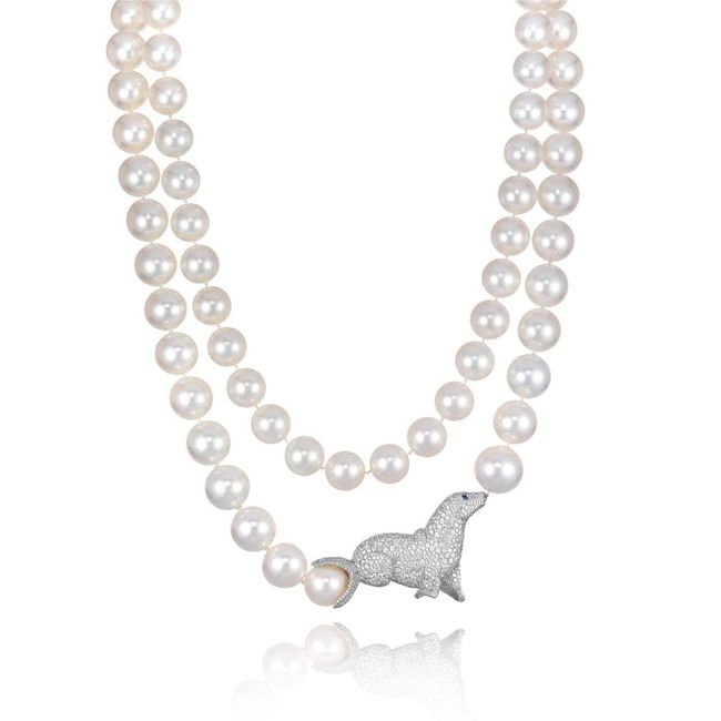 Chopard Animal World Sea Lion Necklace