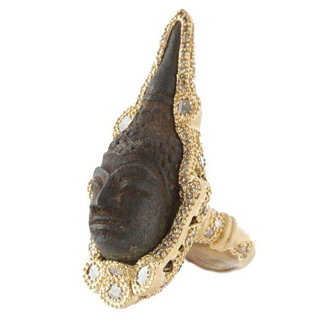 Coomi Buddha Ring