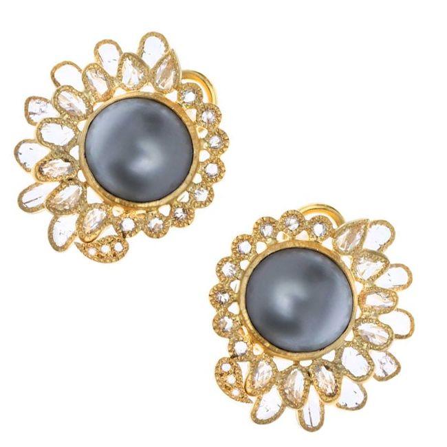 Coomi Tahitian Pearl Earrings