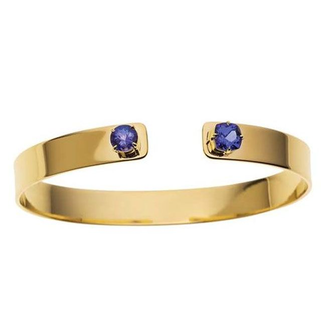 couture blues jemma wynne tanzanite cuff