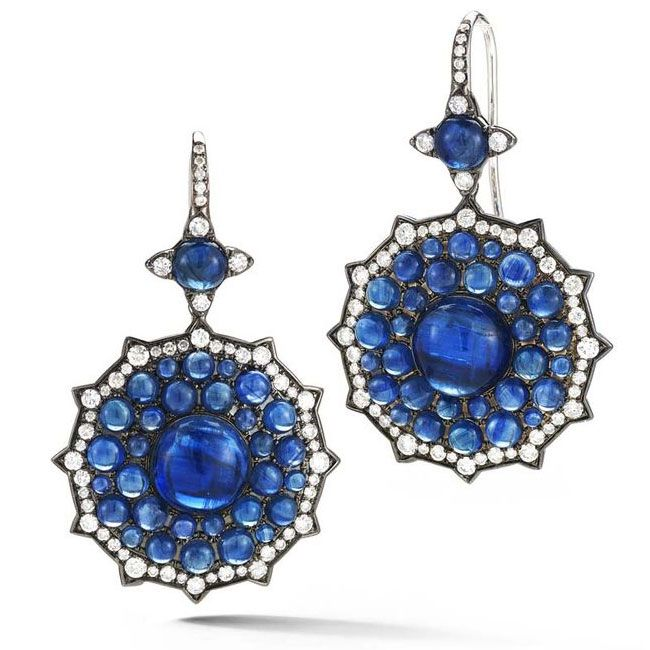 couture blues nam cho earrings