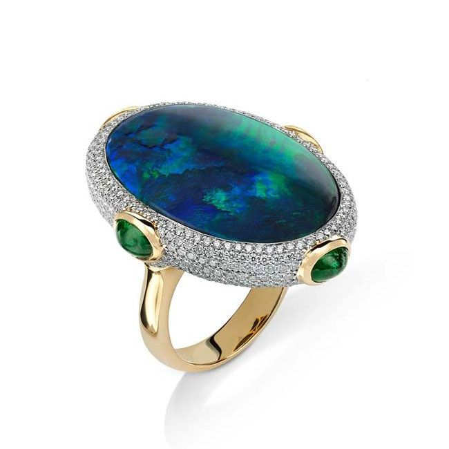 Couture Blues Pamela Huizenga Ring