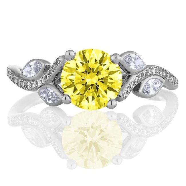 de beers theadonis rose yellow gold