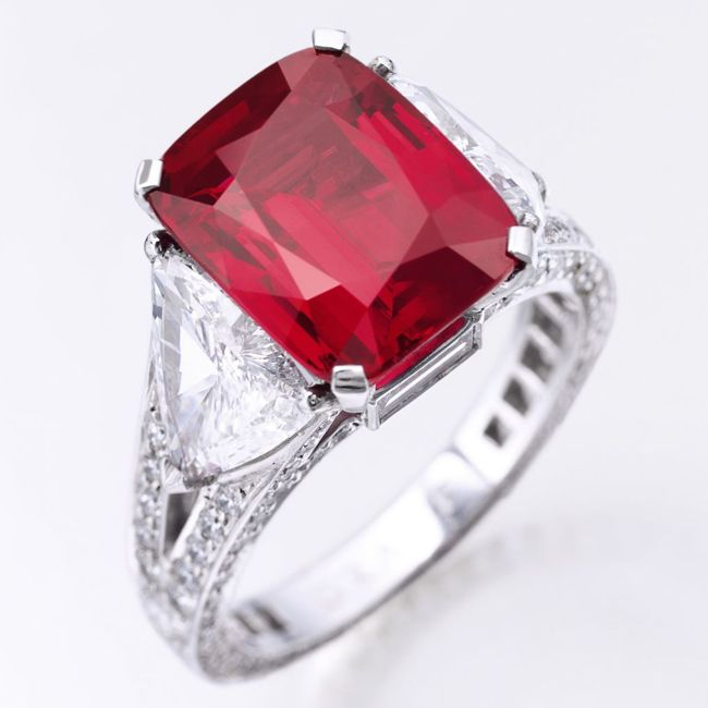 Dimitri Mavrommatis Graff Ruby Ring