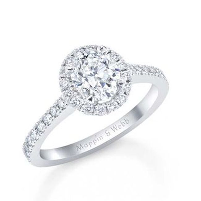 engagement ring styles halo