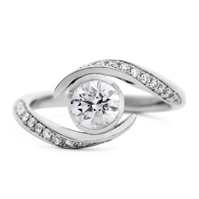 engagement stylish ring
