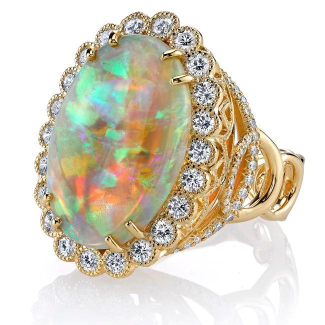 erica courtney australian opal ring