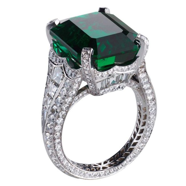 faberge devotion emerald ring