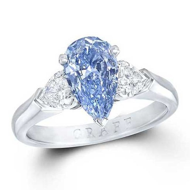 graff blue diamond ring