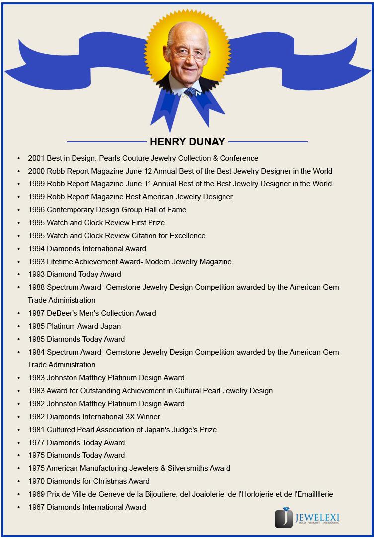 henry dunay awards