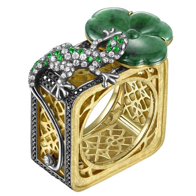 jaideite ring chinese art jewelry