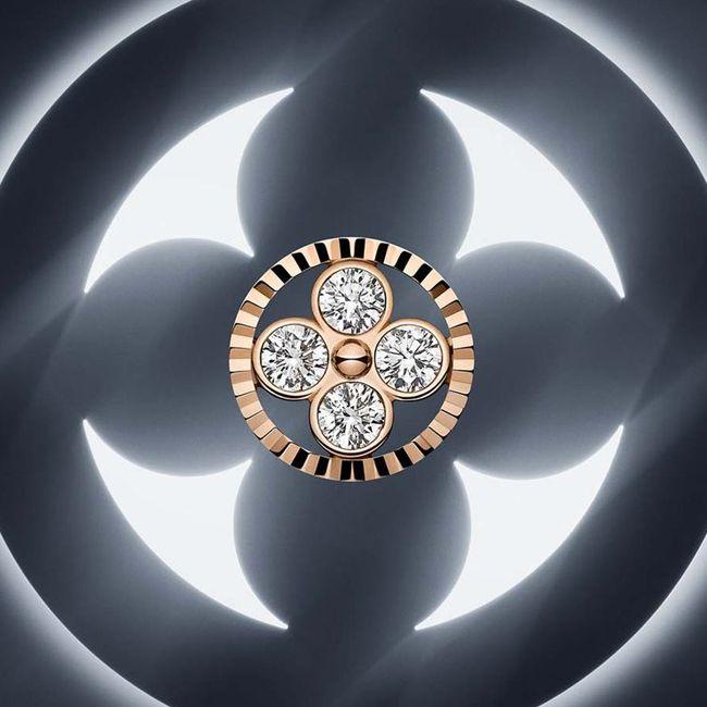 Louis Vuitton Monogram Sun and Star Sun Pendant
