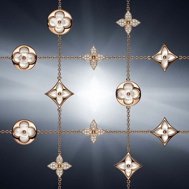 Louis Vuittons Light filled Sun and Star Jewels