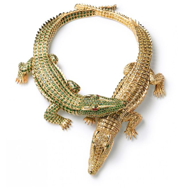 maria felixs crocodile necklace