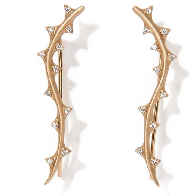 Michelle Fantaci Thorn Ear Cuffs