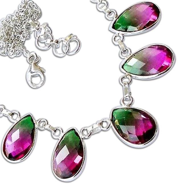 multicolor dazzling necklace
