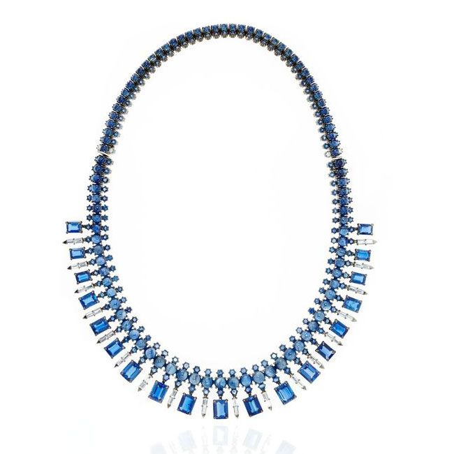 Nam Cho Baguette Necklace