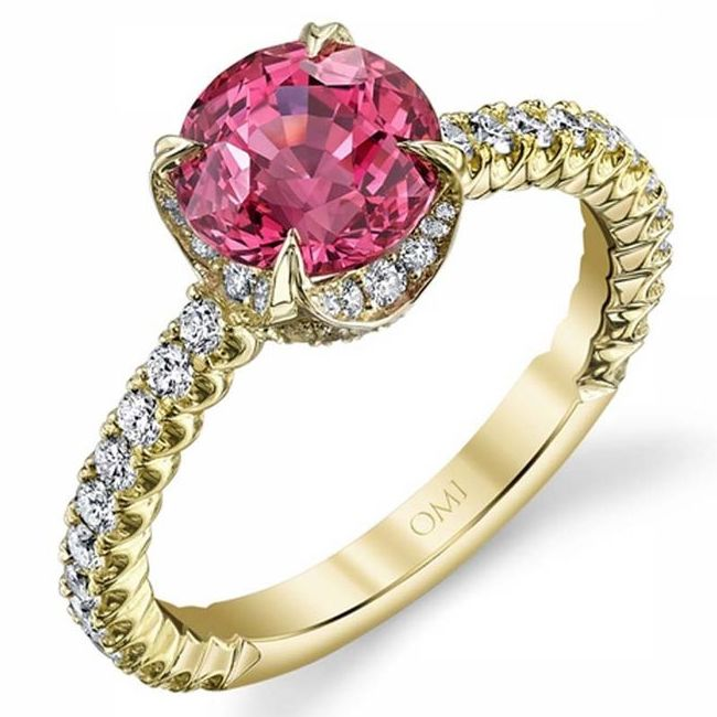 omi prive pink sapphires engagement rings