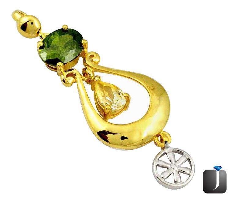 peridot pendant