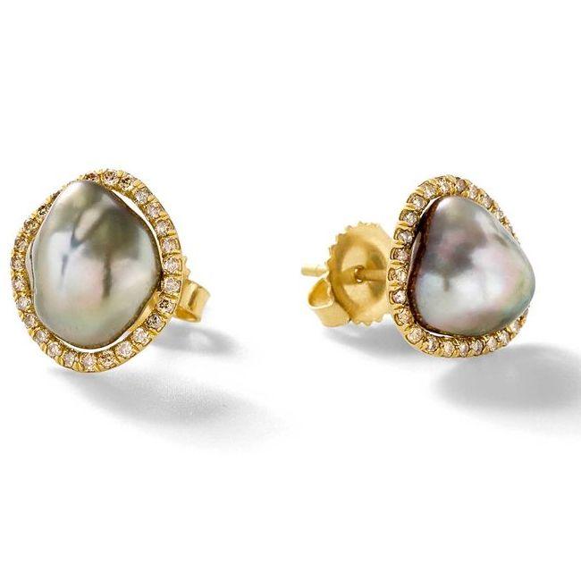 Savannah Stranger Tahitian Pearl Earrings