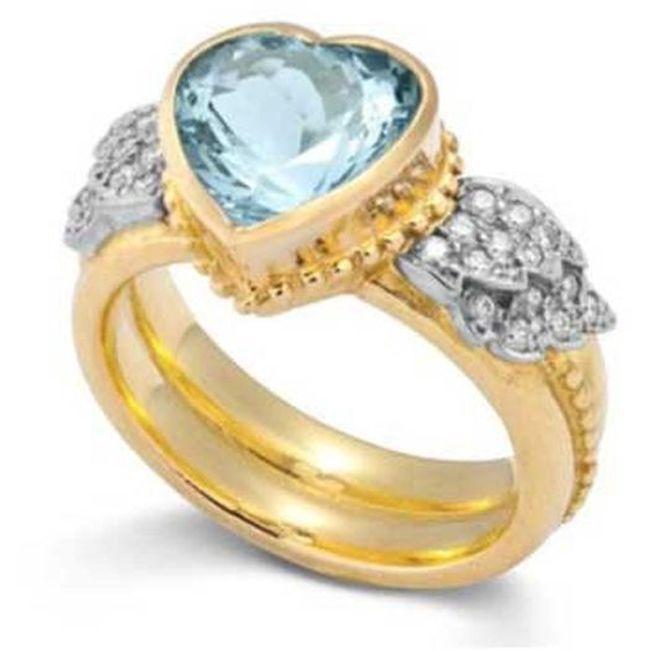 Sophie Harley Aquamarine Ring