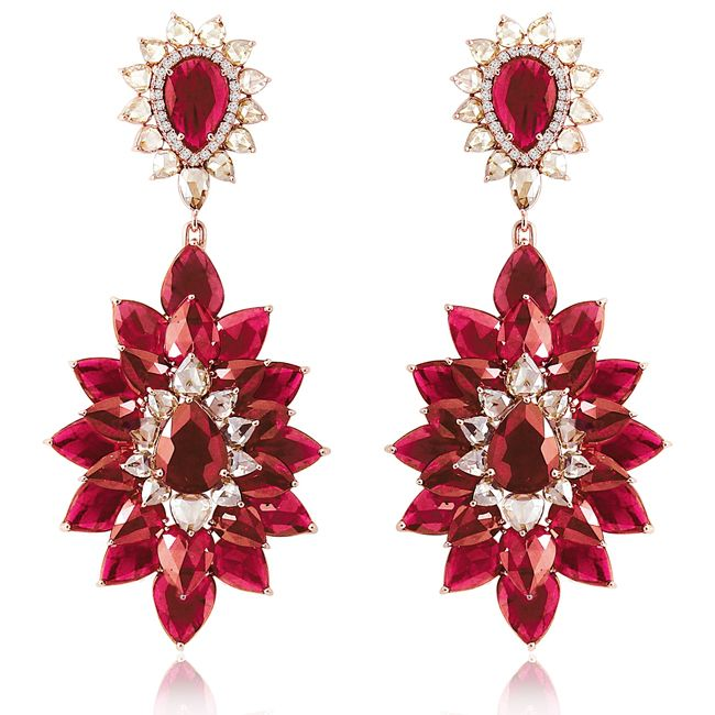 sutra ruby earring