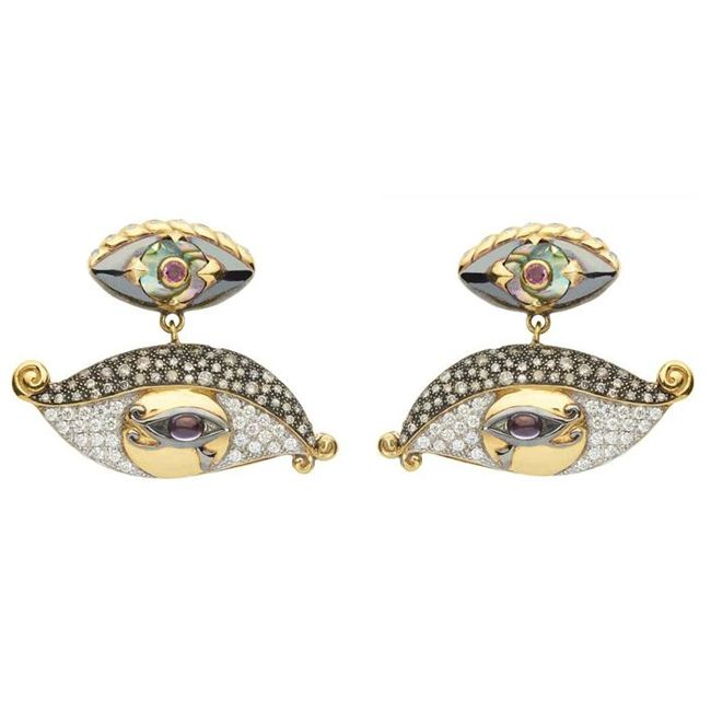 Sylvie Corbelin Earrings