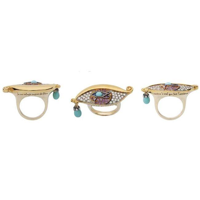 Sylvie Corbelin Eye Ring