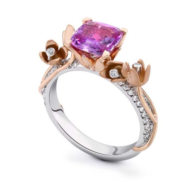 theo fennell pink sapphires engagement rings