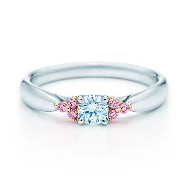 tiffany & co pink diamond engagement ring