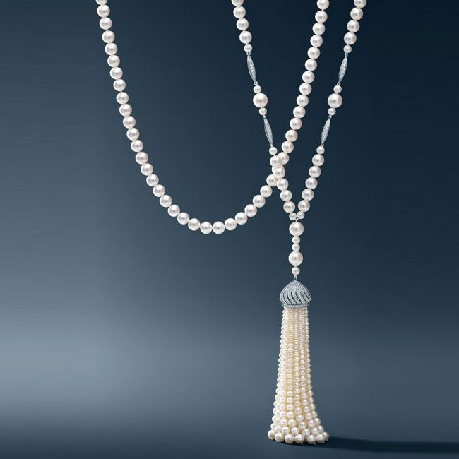 Tiffany Pearl Necklace