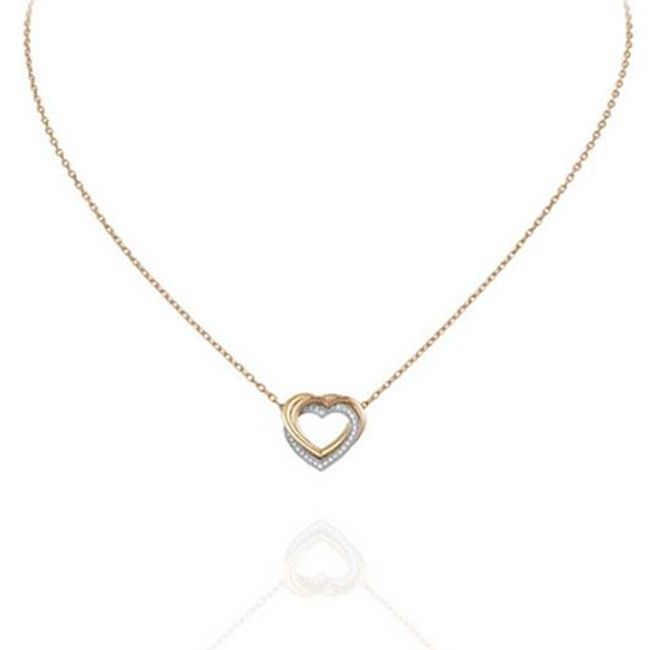 Trinity De Cartier Heart Necklace