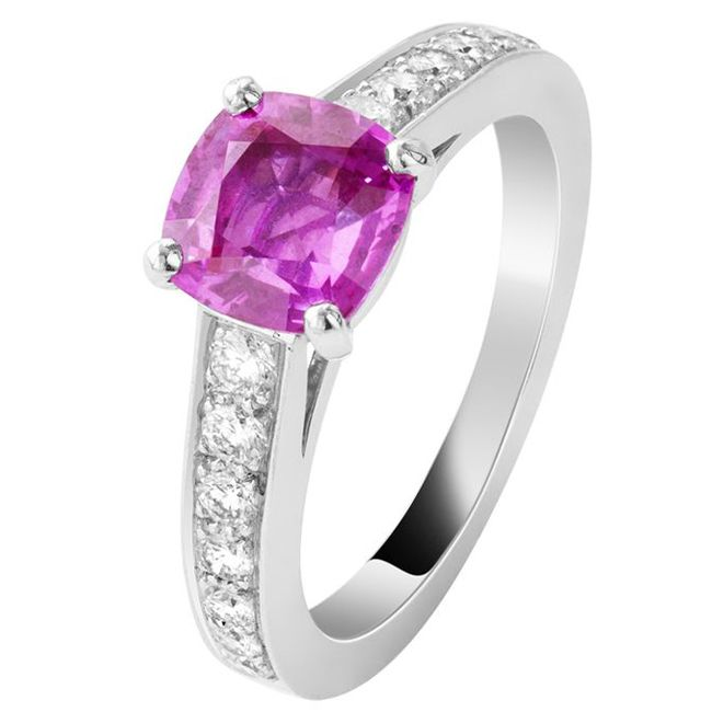 van cleef pushkar sapphire ring